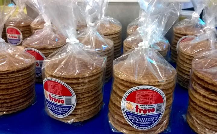 Biscoito Trovo: waffle holandês faz sucesso emNatal