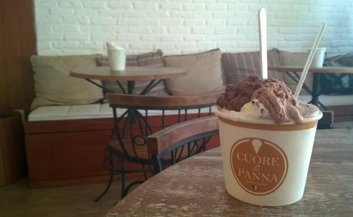 Cuore di Panna: gelato direto do coração daItália
