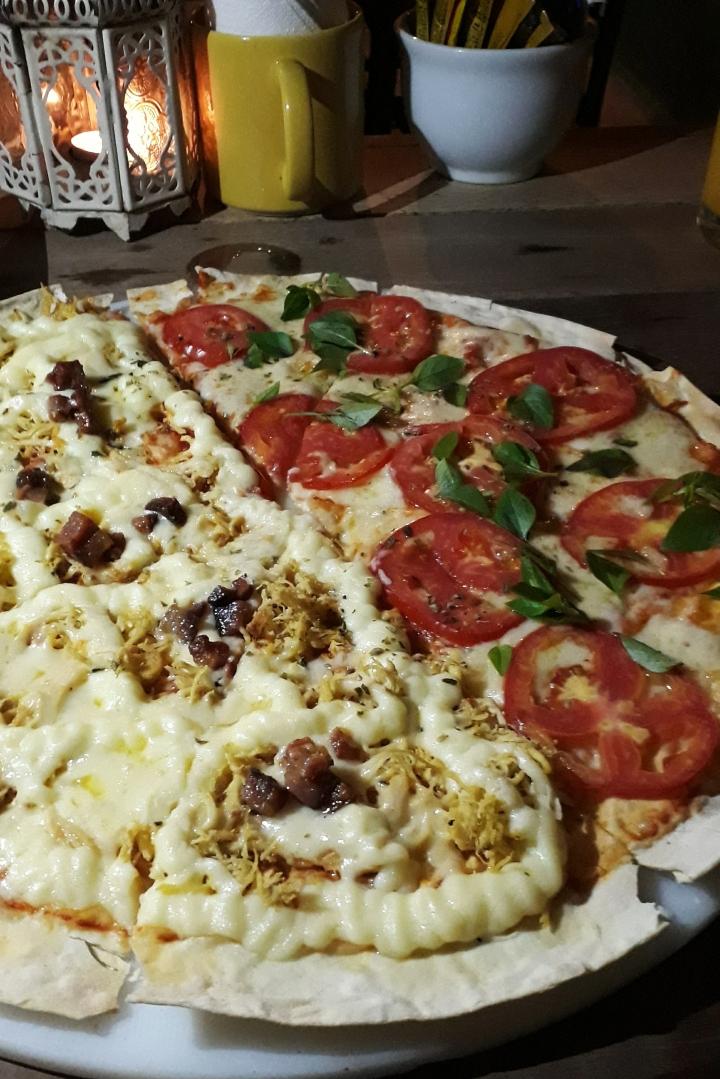 Mormaço oferece pizzas deliciosas em NovaDescoberta
