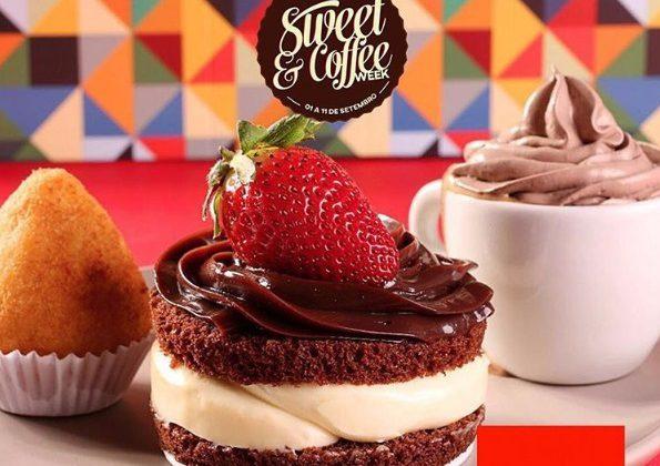Docerias e cafeterias oferecem combos a R$15 na Sweet & CoffeeWeek