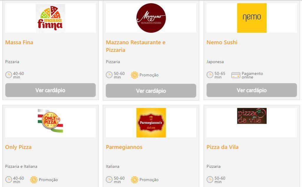18 restaurantes associados à Abrasel já estão cadastrados no Abrafood