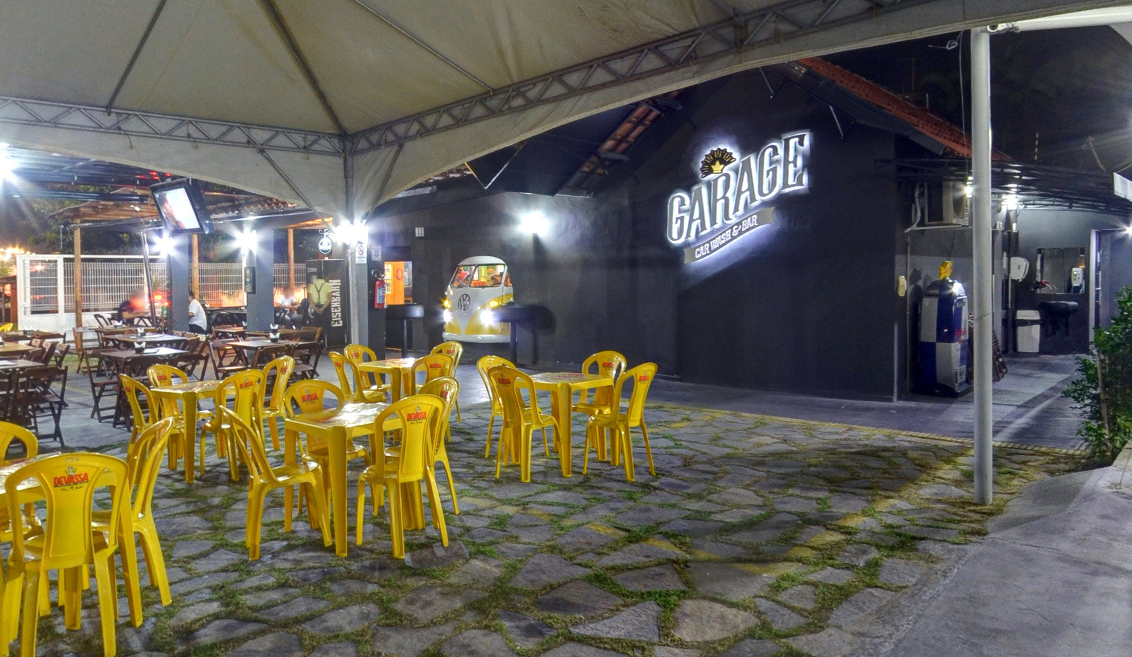 Garage bar une cuidados com ve culo e happy hour for Garage happy car