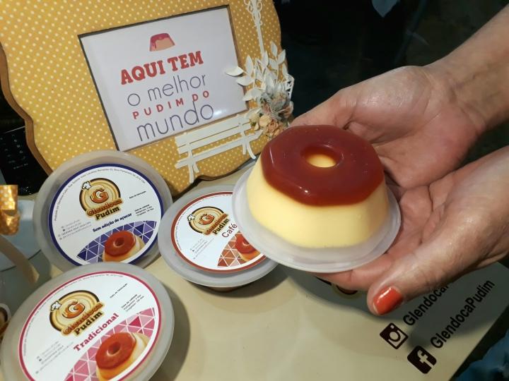 Glendoca Pudim oferece 30 sabores da sobremesa tipicamentebrasileira