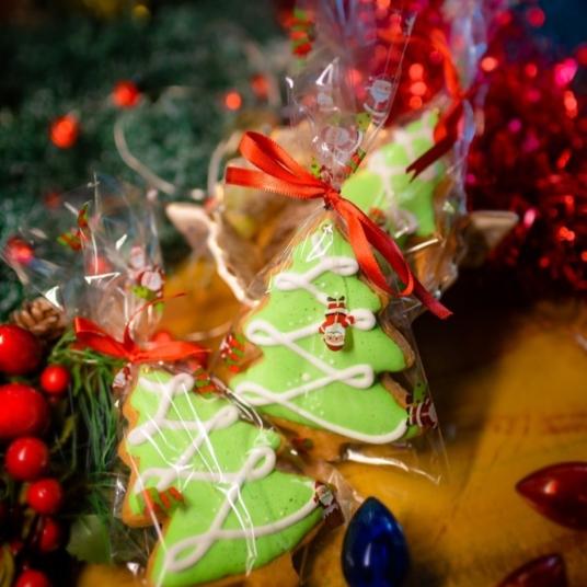Biscoitos natalinos da La Anfitriona em embalagens presenteáveis (Foto: Divulgação)