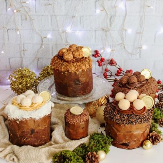Menu da Lustosa Patisserie traz panetones especiais para o Natal (Foto: Divulgação)